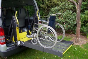 Wheelchair loading from Gentle Giant