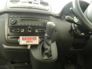 Hoist Controls from Driver's Position