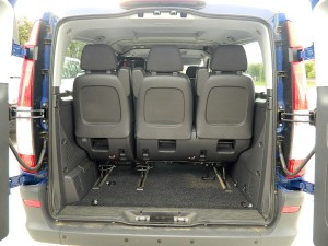 Rear View - Cargo Space