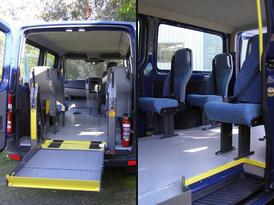 Gentle Giant™ 6000 Hoist & rear seating