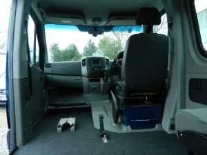 Front Passenger Position