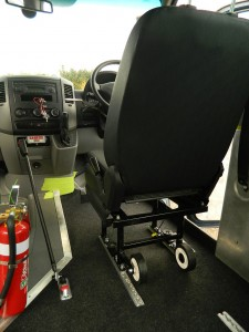Removable Drivers Seat