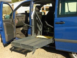 Side Entry Wheelchair Hoist